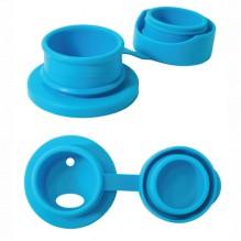 Bouchon sport en silicone pour bouteille en inox Pura - Turquoise