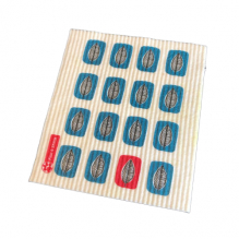 Lingette Flaxie - Cloth Leaf - 100% biodégradable