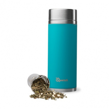 Théière nomade isotherme en inox 300 ml - Turquoise