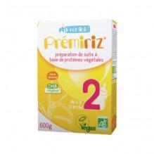 Prémiriz 2 Préparation de suite à base de protéines végétales - de 6 à 12 mois - 600 g