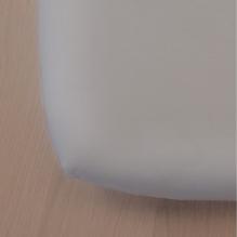 Drap housse Green Clim - 90 x 200 cm - Gris clair