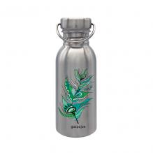 Gourde Sporty Inox - Plume Verte - 750 ml
