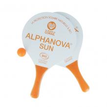 Raquettes de plage Alphanova