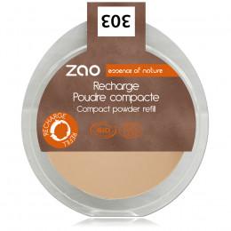 Recharge Poudre Compacte Visage 303 (Brun beige) - 9 g