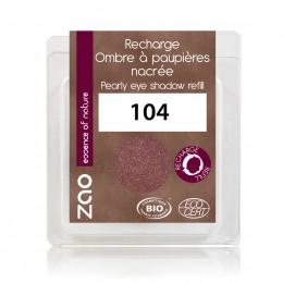 Recharge fard à paupières nacré - grenat - 104 - 3 g