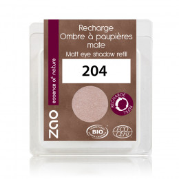 Recharge fard à paupières mat - vieux rose doré - 204 - 3 g
