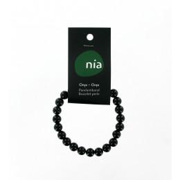 Bracelet perle Onyx