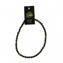 Collier perle 40 cm Agate Indienne