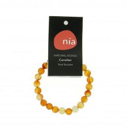 Bracelet perle Cornaline