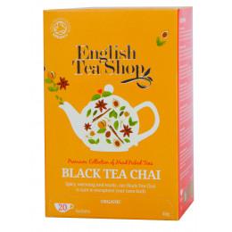 Thé noir - Chai noir BIO - 20 infusettes