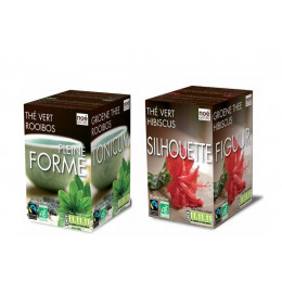 Duo infusions Pleine forme et Silhouette