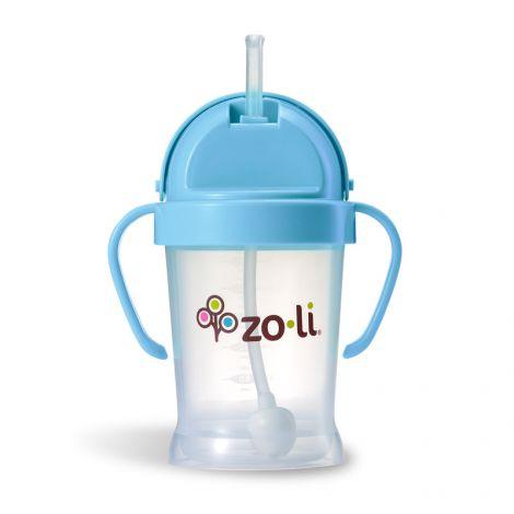 Gobelet avec paille  Sans BPA ni phtalate Bleu - 180 ml