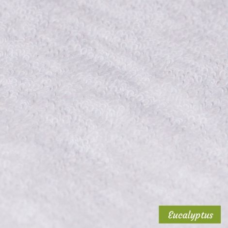 10 carrés démaquillants lavables Eco Belle - (Bambou, Coton BIO, Eucalyptus, Molleton de coton BIO)