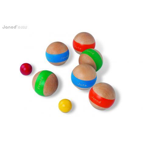 Boules de pétanque - à partir de 5 ans