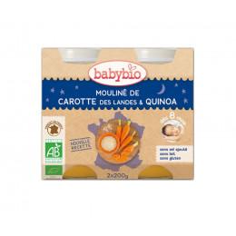 Mouliné de carotte des Landes et quinoa (dès 8 mois) 2 x 200 g