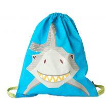 """Sac d'activité enfant en coton BIO """"Requin"""""""