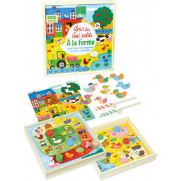 """Les jeux des tout petits """"à la ferme"""" - à partir de 2 ans"""