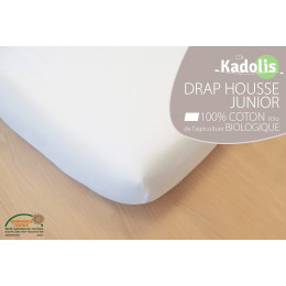 Drap Housse en Coton Bio - Pour lit simple 90x190 cm