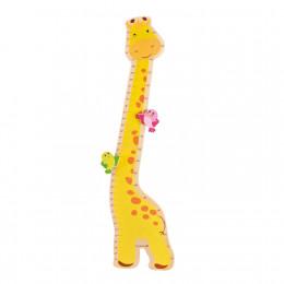 Toise en bois girafe - à partir de 1 an