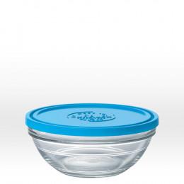 Plat rond en verre avec couvercle - 17 cm - 97 cl