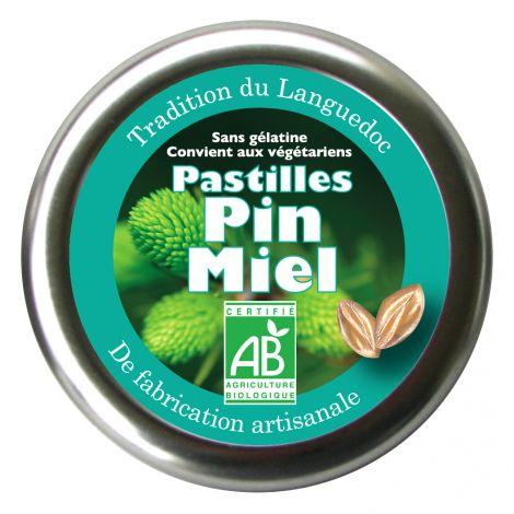 Pastilles Pin Miel 45 g
