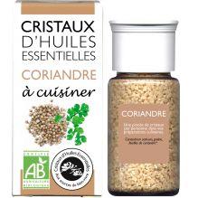 Cristaux d'huiles essentielles à cuisiner - coriandre - 10 g