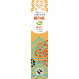 Encens traditionnel Indien Orange 20 g