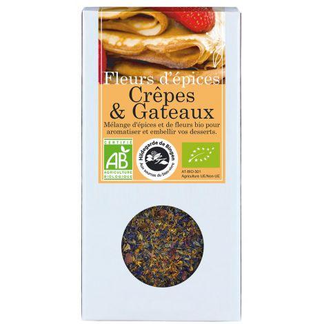 Fleurs d'épices Crêpes et gâteaux 35 g