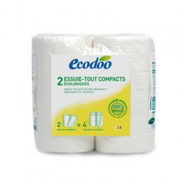 Essuie-tout papier cuisine compact recyclé