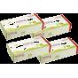 4 boites de mouchoirs en papier recyclé
