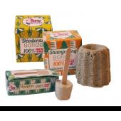 Kit de 3 produits solides - Deo, shampooing et dentifrice