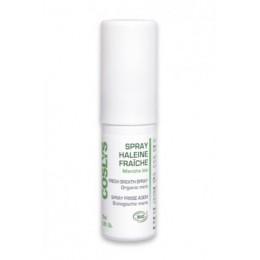 Spray haleine fraîche BIO menthe 15 ml