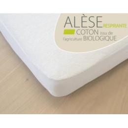 Alèse en Coton BIO - Pour lit bébé 60x120 cm