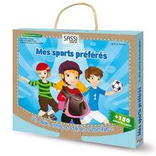 Mallette de jeux Mes sports préférés - à partir de 5 ans*