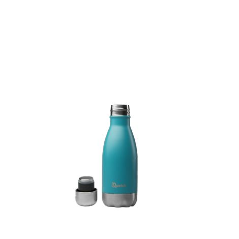 Bouteille isotherme en inox - Turquoise - 260 ml