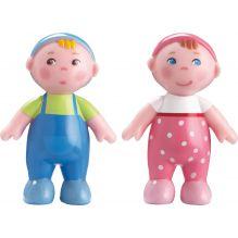 Poupées articulées bébés Marie et Max - Little Friends - à partir de 3 ans