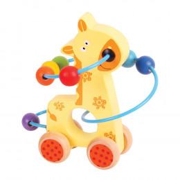 Mini boulier Girafe - à partir de 1 an
