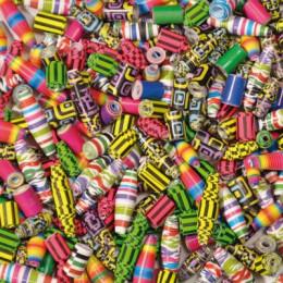 Aiguille spéciale perles avec bandes de papier - pour enfants à partir de 5 ans