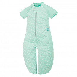Pyjama transformable en sac de couchage - Léger Mint Cross TOG 1.0 / 8-24 mois