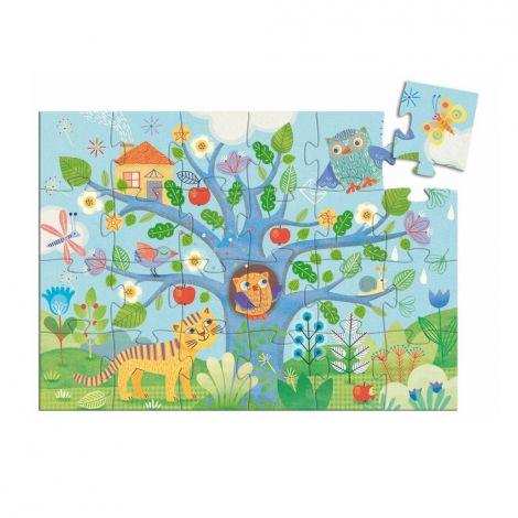 Puzzle Coucou hibou - A partir de 3 ans