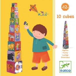 10 cubes rigolos - A partir de 1 an