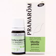 Huile essentielle de Menthe poivrée  BIO - 10 ml