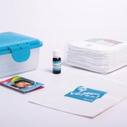 Mini kit lingettes - assortiment d'essai - lavande/camomile