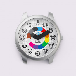 Montre Twistiti animaux sans bracelet
