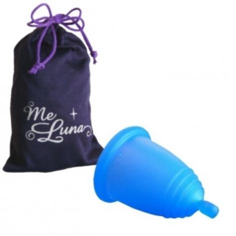 Coupe menstruelle soft - Boule - bleu *