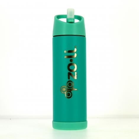 Gourde isotherme en inox Pow Pip 470 ml Turquoise
