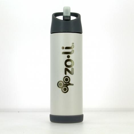 Gourde isotherme en inox Pow Pip 470 ml Blanc