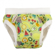 Culotte d'apprentissage en coton bio - Fruits