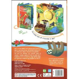 Livre Pop up 360° Les animaux de la planète - à partir de 6 ans
