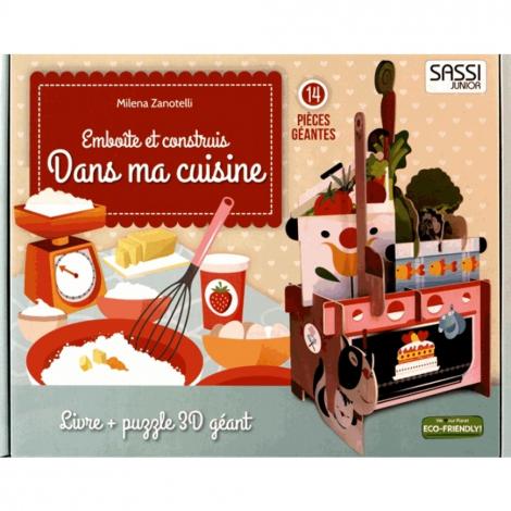 Puzzle 3d Geant Dans Ma Cuisine A Partir De 3 Ans Sebio